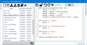 Python Script Editor