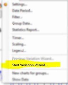 GainSeeker - Start Variation Wizard