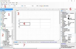 GainSeeker Dynamic Reports Design Form