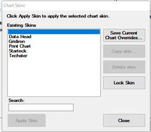 GainSeeker SPC Charts - Default Chart Skins