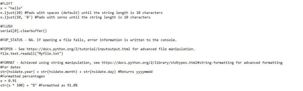 Python Scripts Conversion Code Example