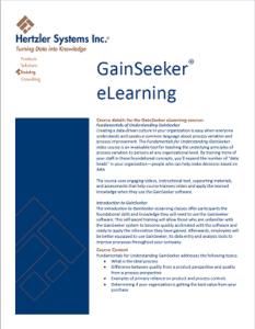 GainSeeker eLearning Brochure